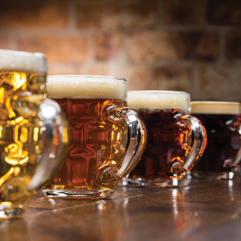 Beer Glasses Dimple Tankard