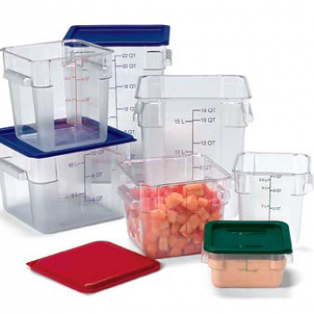 Square storage boxes