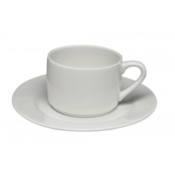 Glacier Stacking Cup Saucer2. FG TCS 024. FG TSS 155